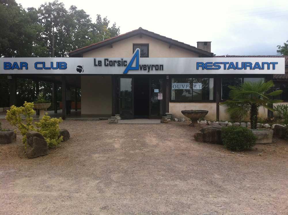 Restaurant Le Corsicaveyron Menu