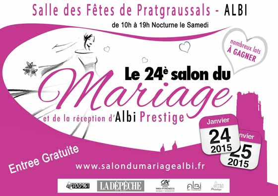 Salon du mariage et de la r ception d 39 albi salle des for Salon de the albi