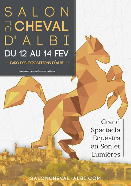 Salon du cheval d 39 albi come back parc des - Salon du cheval albi ...